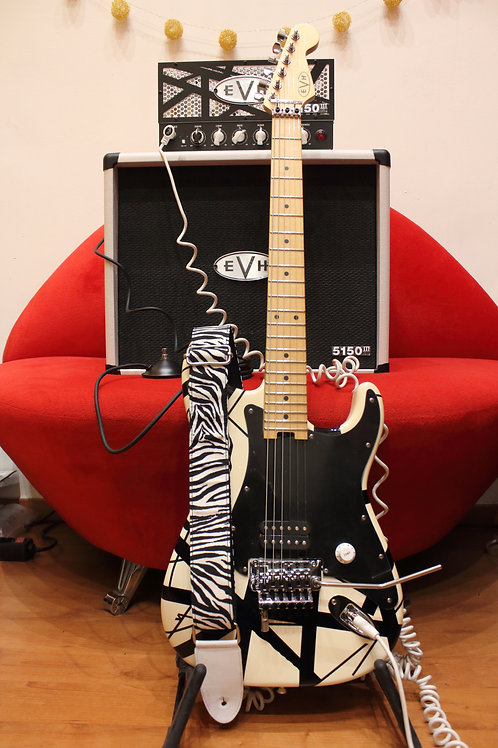 Fender EVH White Stripes Conjunto Completo