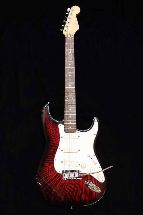 Fender Plus Deluxe II Stratocaster 1993 Firestorm