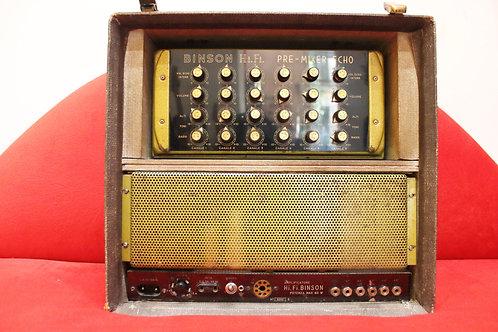 Binson Mixer 6 Canales y Amplificador Hi Fi 60 Watts