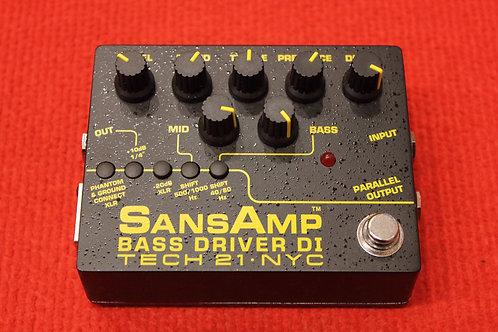 Tech 21 SansAmp Bass Driver DI V2