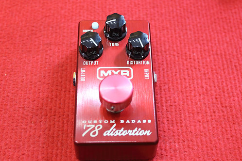 MXR M87 Custom Badass '78 Distortion