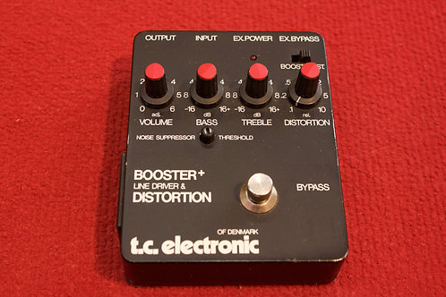 TC Electronic Booster, Line, Distortion