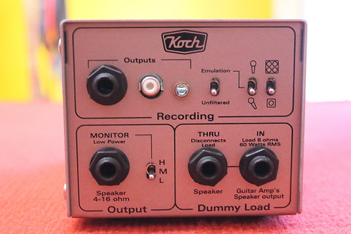 Koch Amps Dummybox Home