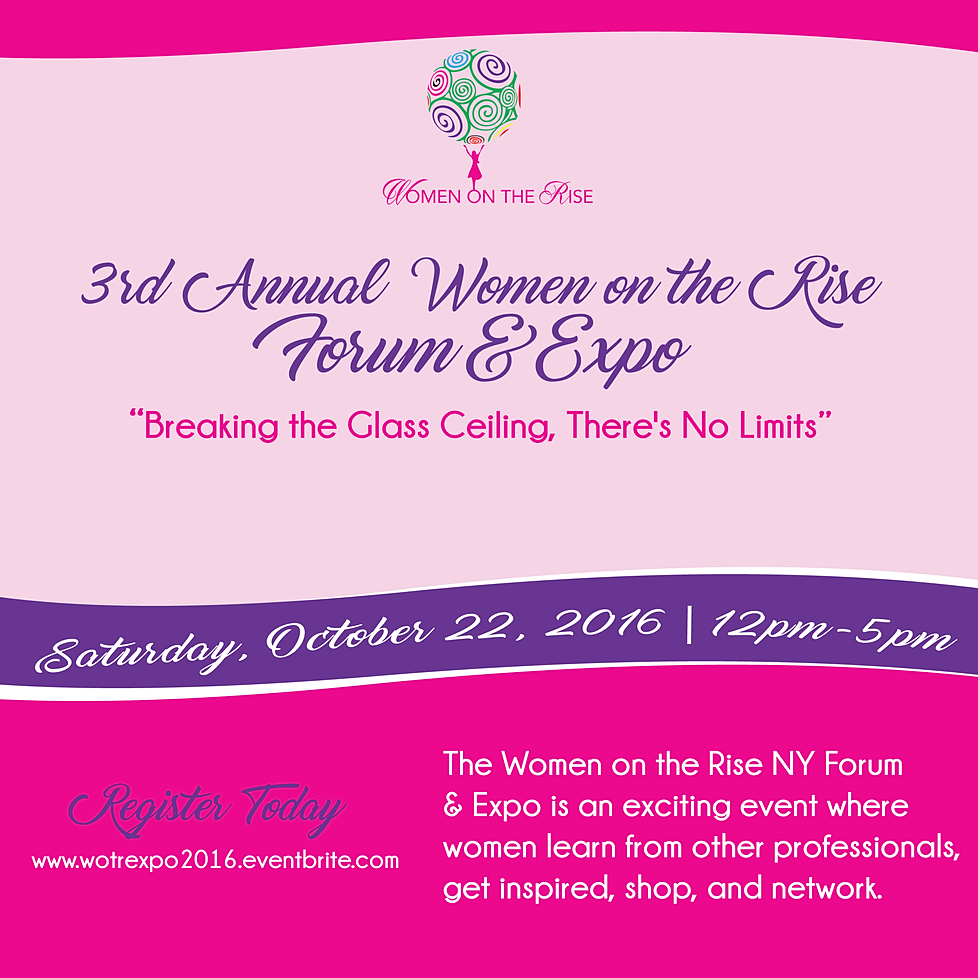 Image result for women on the rise expo