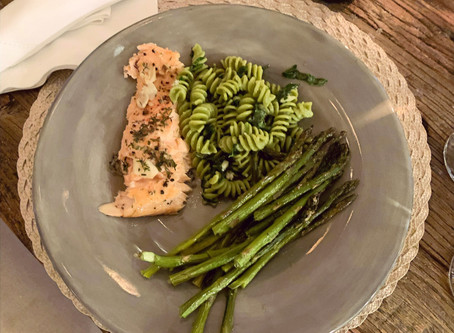 Garlic and Brown Sugar Salmon