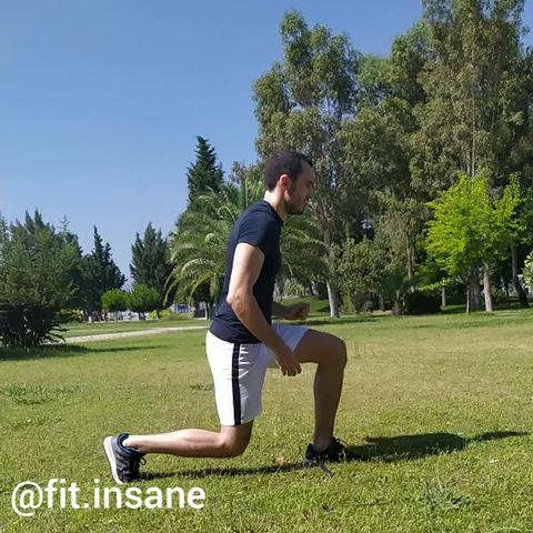 Jump Split Lunges Nasıl Yapılır?