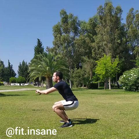 180 Derece Jump Squat Nasıl Yapılır?