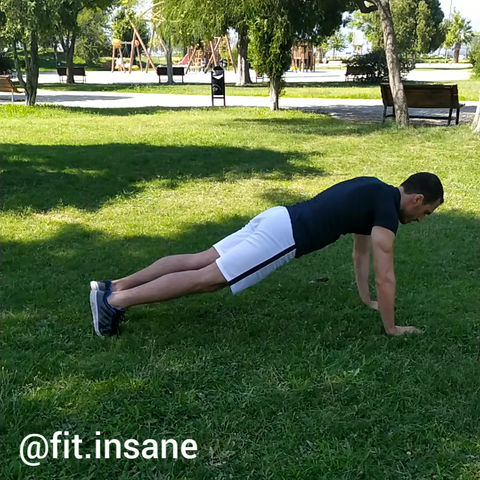 Up&Down Jump Plank