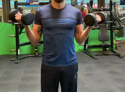 Wide grip dumbbell biceps curl Nasıl Yapılır?