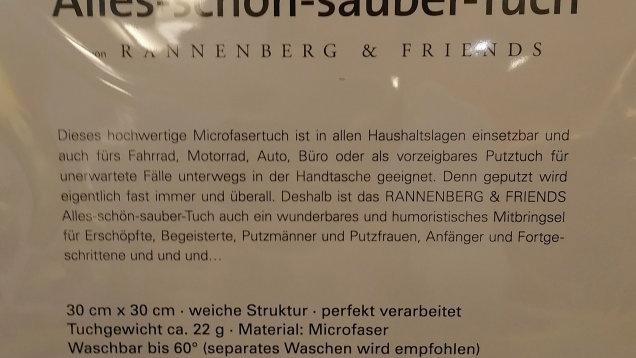 "Spüllappen ""Alles Sauber"" waschbar 60 grad"