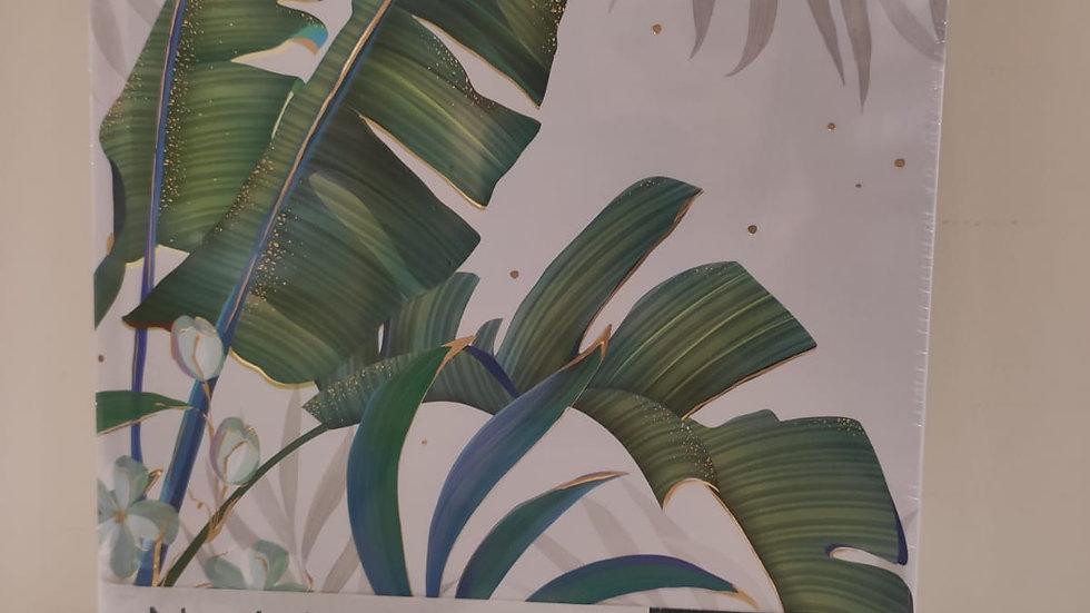 """Notizbuch """"Tropical""""  200 Seiten blanko  Format A5  100g/m2"""