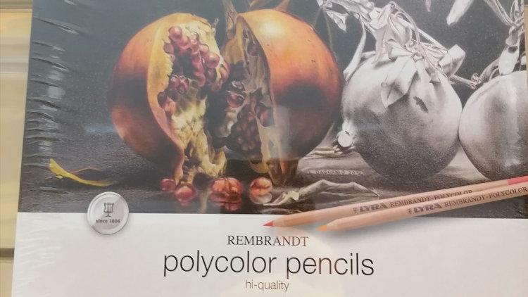 Lyra polycolor Künstler- Farbstifte 24 Farben,lichtecht, bruchfest