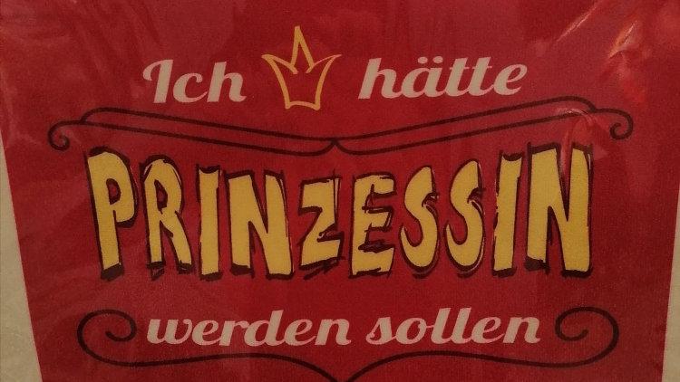 """Spüllappen """"Prinzessin"""" waschbar 60 grad"""