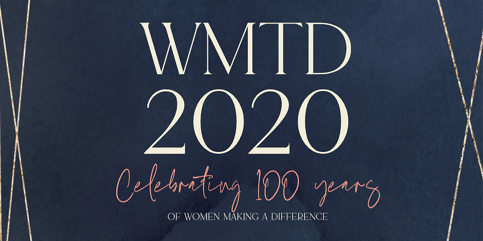 Women Make the Difference 2020