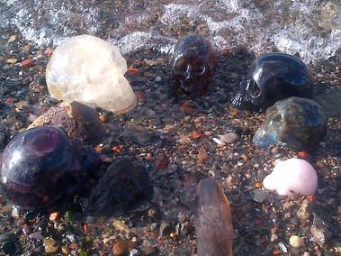 Crystal Skulls Water Blessings
