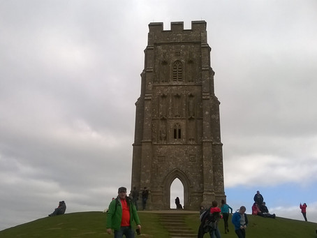 Glastonbury Tor, Glastonbury, March 2015