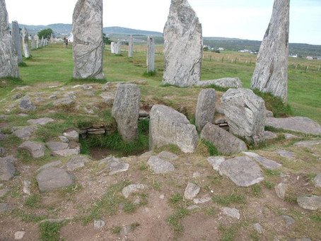 Calanais Standing Stones, Isle of Lewis, August 2014, Earth Healing Ceremony