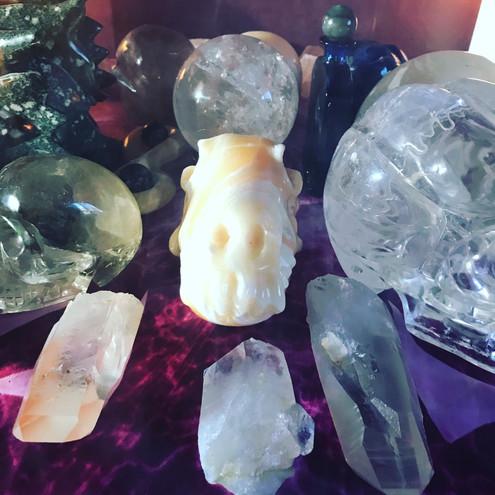 Crystal Skull Healing