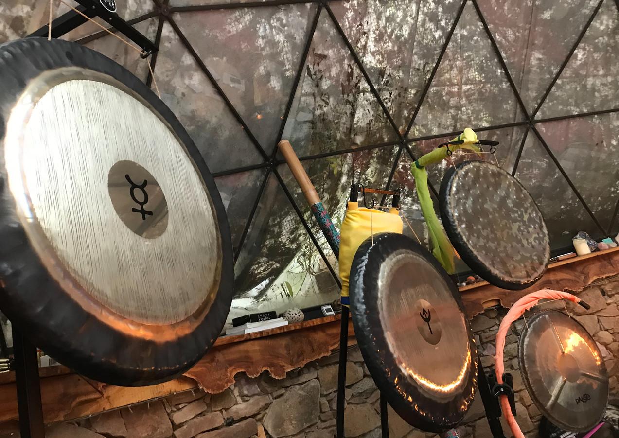 Lemurian Healing, Crystal Keys, Gong Bat