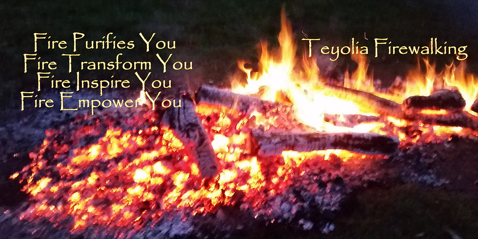 New Year purification with Divine Fire, Firewalking Ceremony