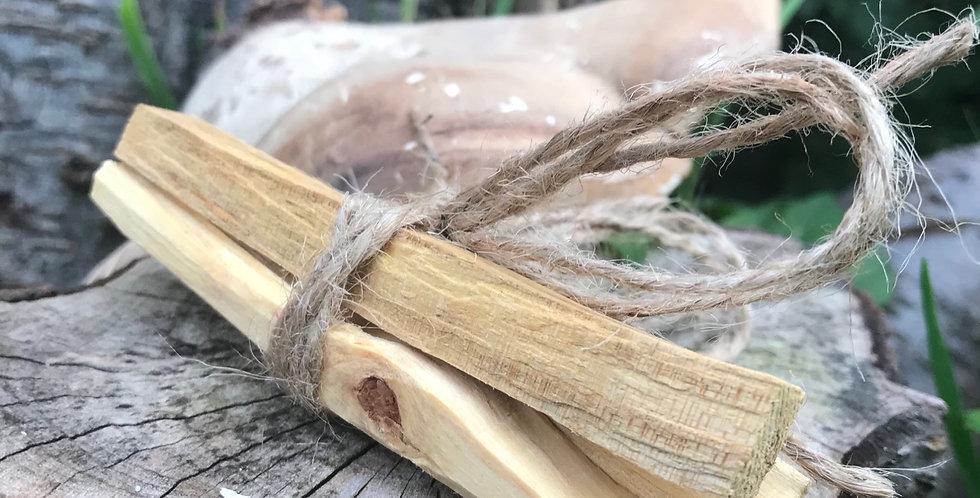 Palo Santo Sacred Wood x3 sticks. MycoBee Mystic Range .