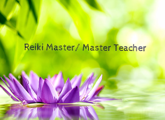 Reiki Master/ Teacher