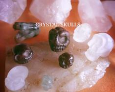 Birchman Crystal Skulls