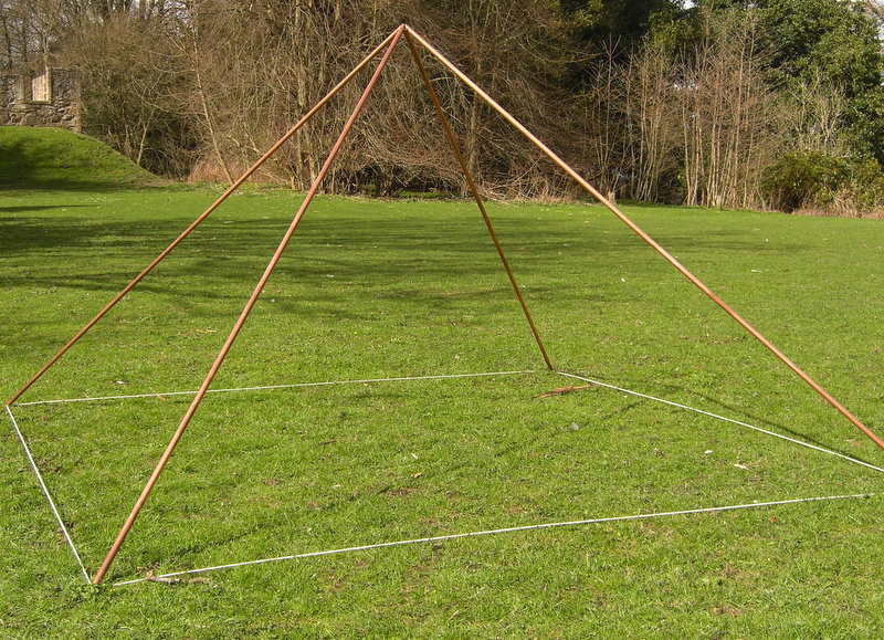 Copper Pyramid for Meditation