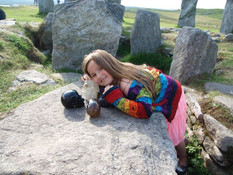 Crystal Skulls visitig Calanais Standing Stones