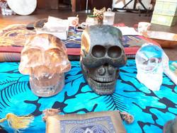 Kalif, Jade & Sammie Crystal Skulls