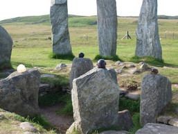Crystal Skulls visitinng Calanais Standing Stones