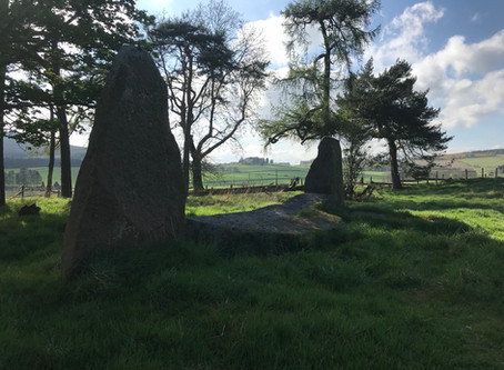 Sunhoney Stone Circle, Aberdeenshire, Scotland