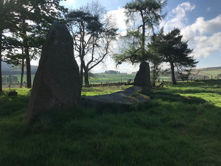 Sunhoney Stone Circle, Aberdeenshire, Scotland