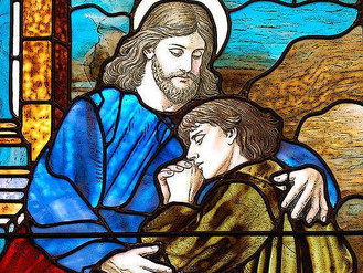 EL MAESTRO JESÚS Y JUAN EL AMADO