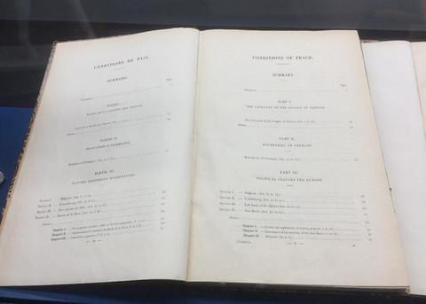 The Armistice document