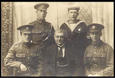 family photo WW1