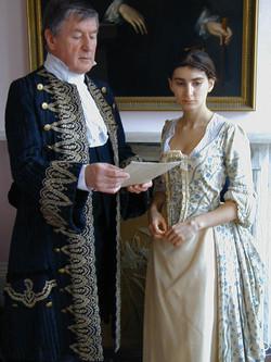Sir John Belmont and Evelina : Willi