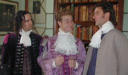Sir Clement Willoughby, Mr Lovel, Lo