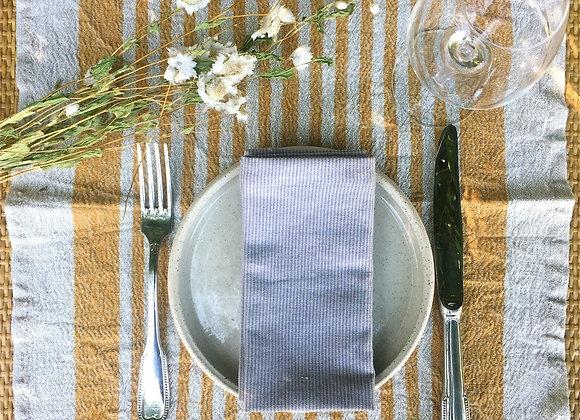 Set de table en lin lavé (lots 2 pcs)