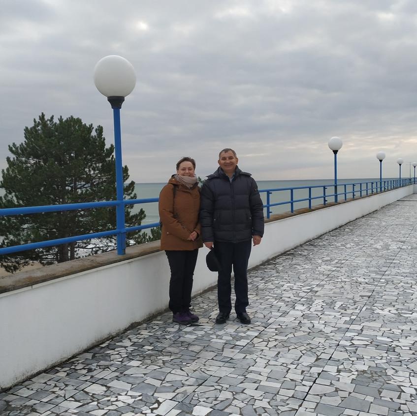 Слева направо - Метс Г.Ю. и Конышев В.А.