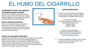 Trigger Information Sheets- Spanish