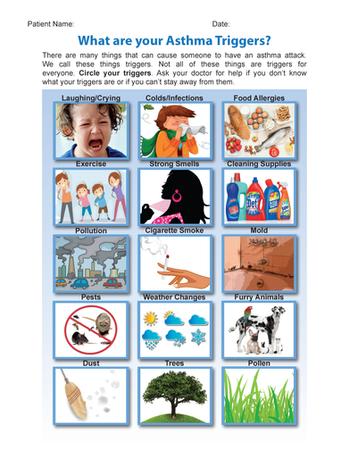 Trigger Identification Sheet