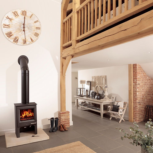 The Woodwarm Phoenix Ecodesign Ready Fireblaze  Tall 6kW