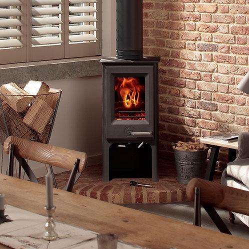 The Woodwarm Phoenix Ecodesign Ready Firewren Tall 4kW