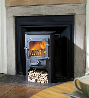 Clearview Pioneer 400p with log store