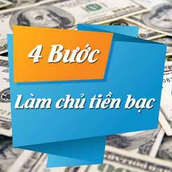 Bốn bước giúp bạn làm chủ tiền bạc