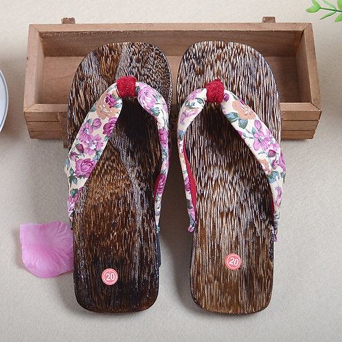 Wooden clogs for Kid