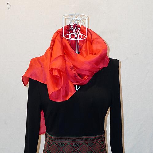 Silk scarf 75*180 KI435