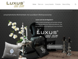 LUXUS AND MORE - LIFESTYLE PLATTFORM