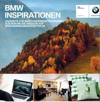 BMW INSPIRATIONS MAGAZIN